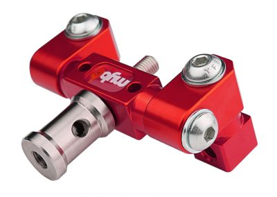 3Sixty Adjustable V-Bar Mount Red