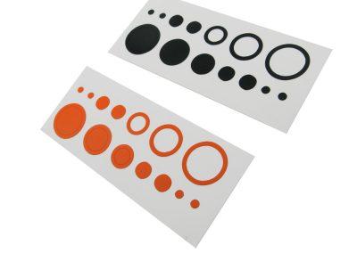 Stick on Dots & Circle