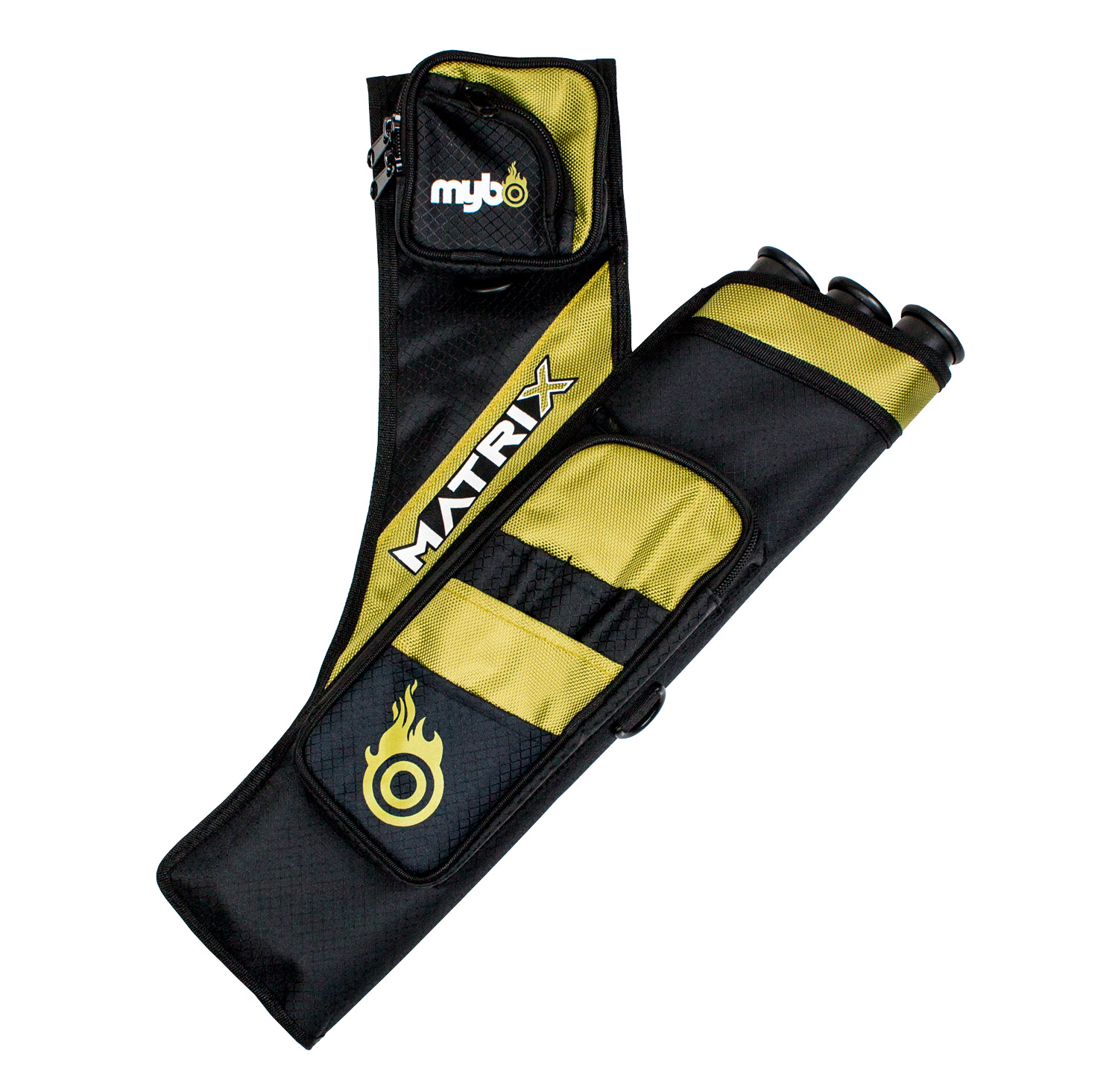 Matrix Target Quiver - Right Handed - Black/Gold