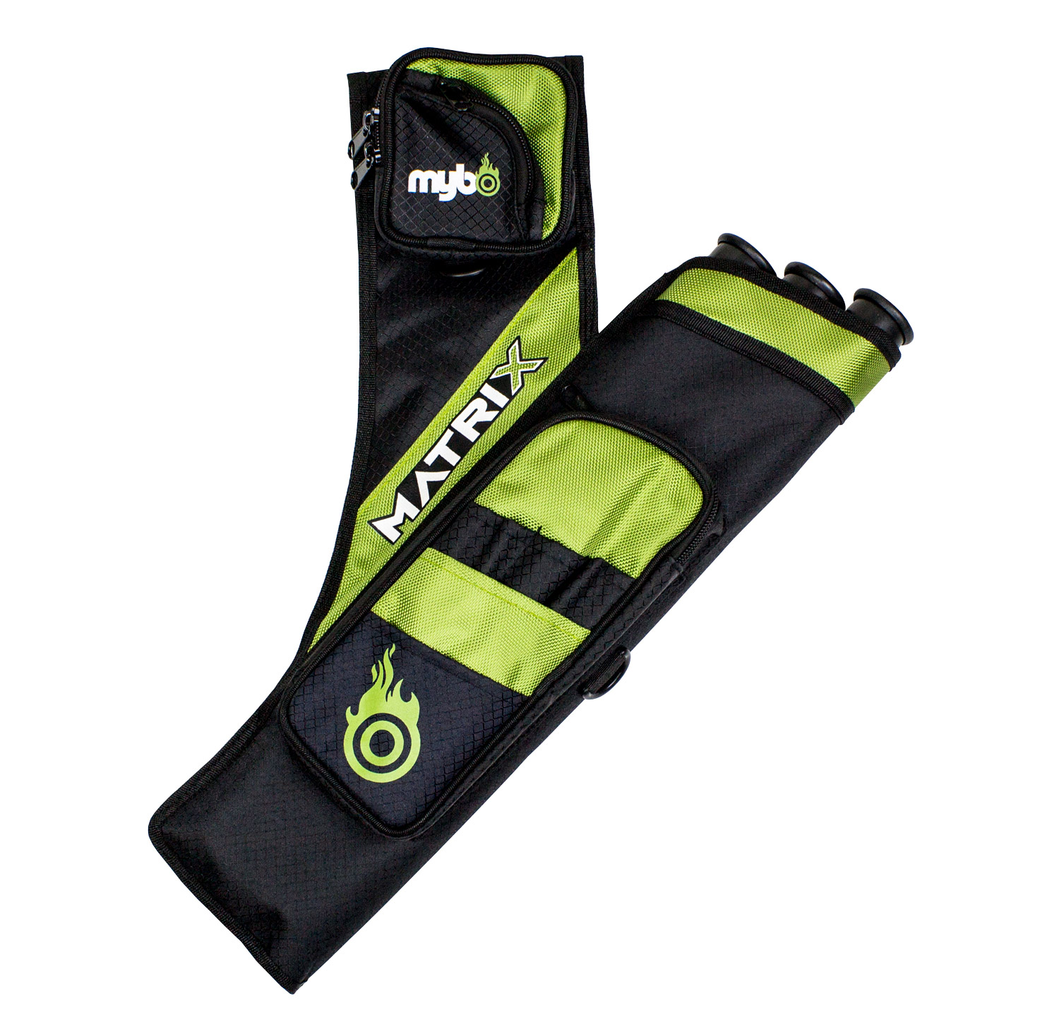 Matrix Target Quiver - Right Handed - Black/Green