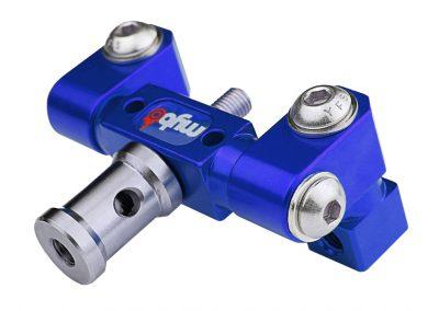 3Sixty Adjustable V-Bar Mount Blue