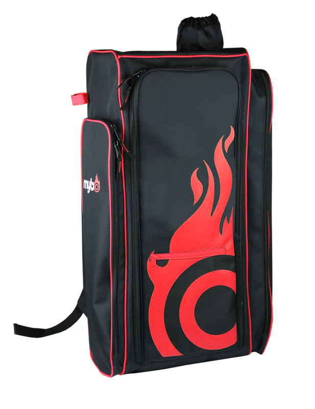 Aeon Flame Backpack for Recurve Bows - Red