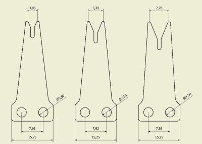Horizon Launcher Blade Dimensions
