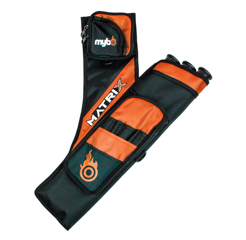 Matrix Target Quiver - Right Handed - Black/Orange